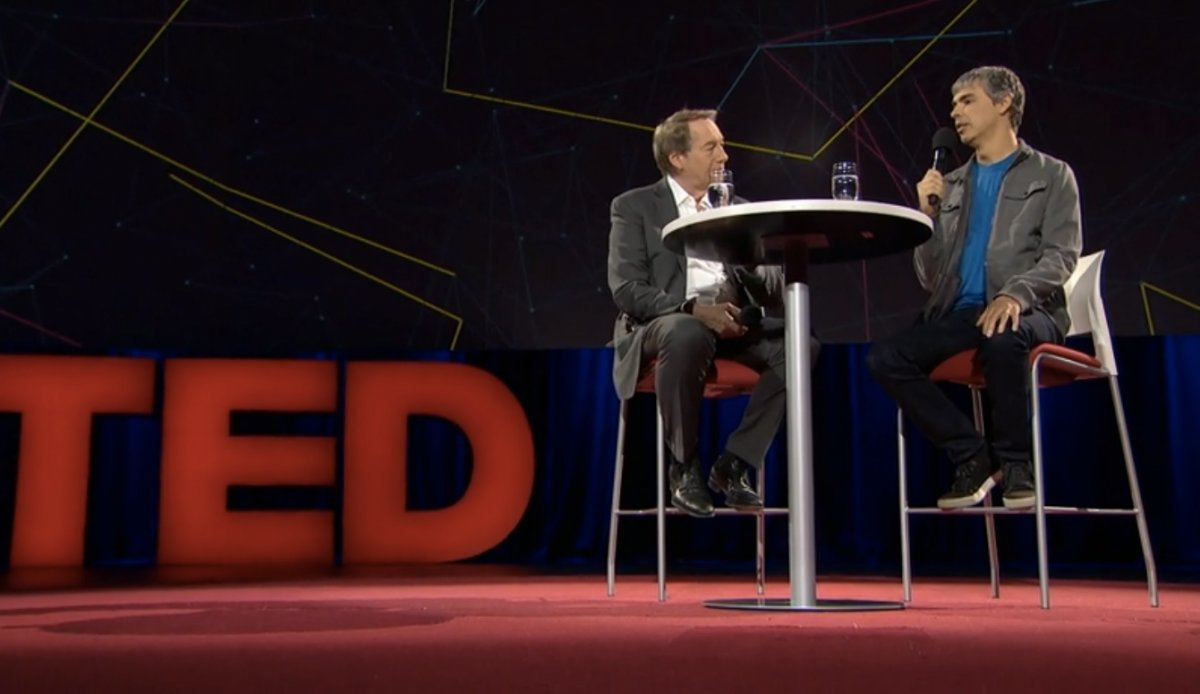 larry page ted