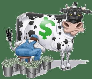 vaca dinero