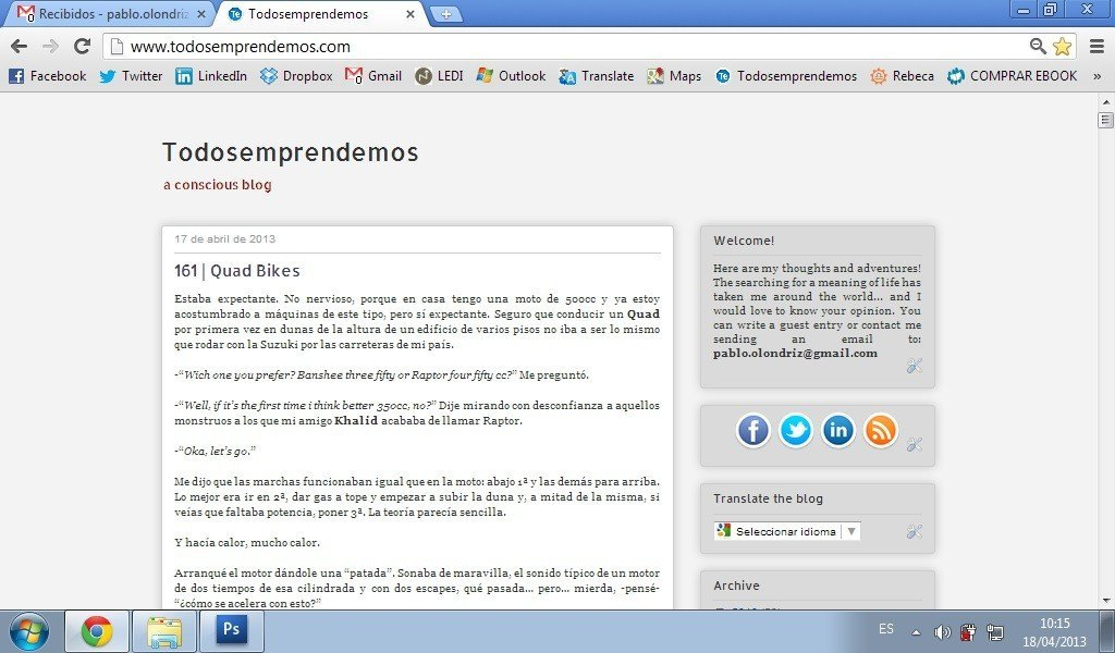 blog todosemprendemos