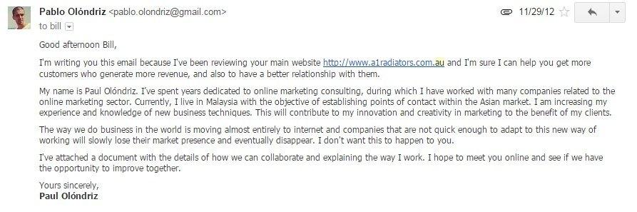 email a australia