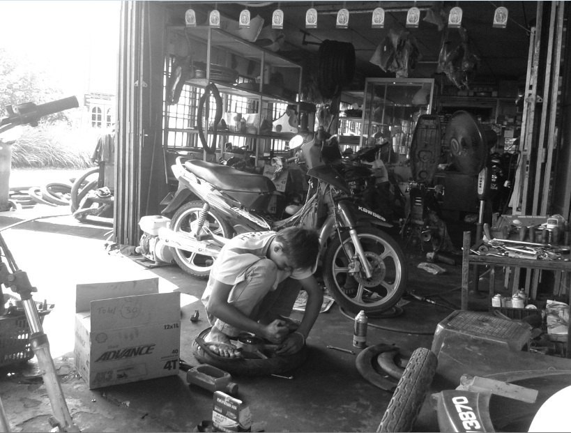 mecanico joven