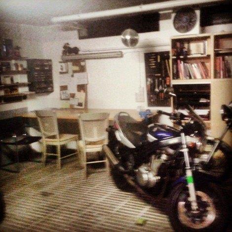 garaje de casa