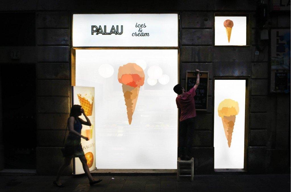 inaguracion heladeria emprendedores